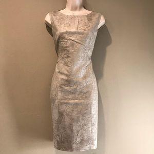 MaxMara crushed silk Sheath Dress